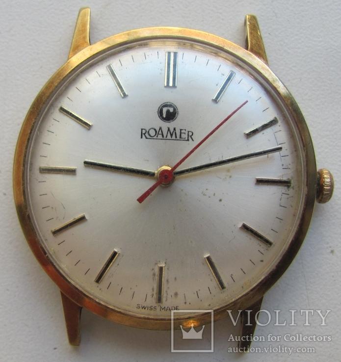 Часы Roamer, золото 585*