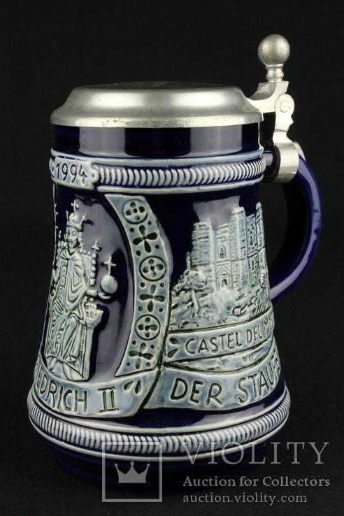 Коллекционная пивная кружка. Marzi & Remy. Германия. (0696)