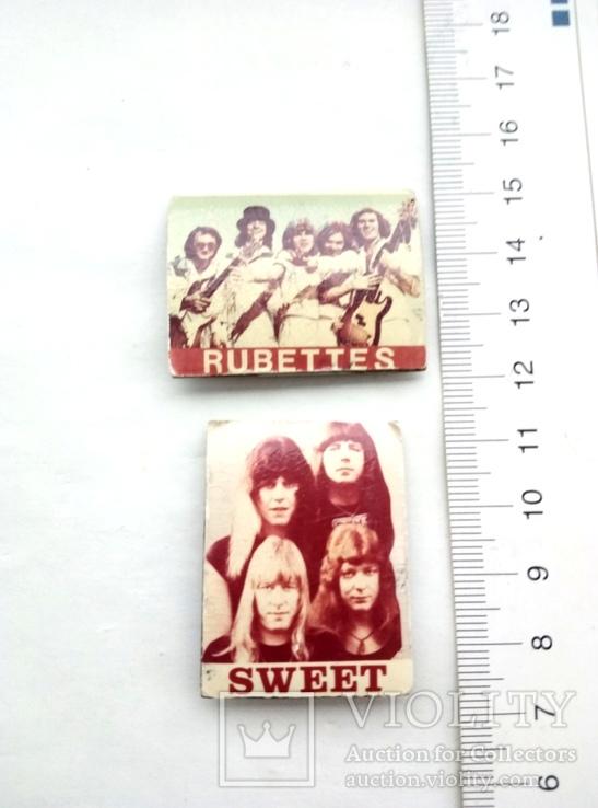"Рок группы ""Rubettes"" и  ""Sweet"", фото №2"