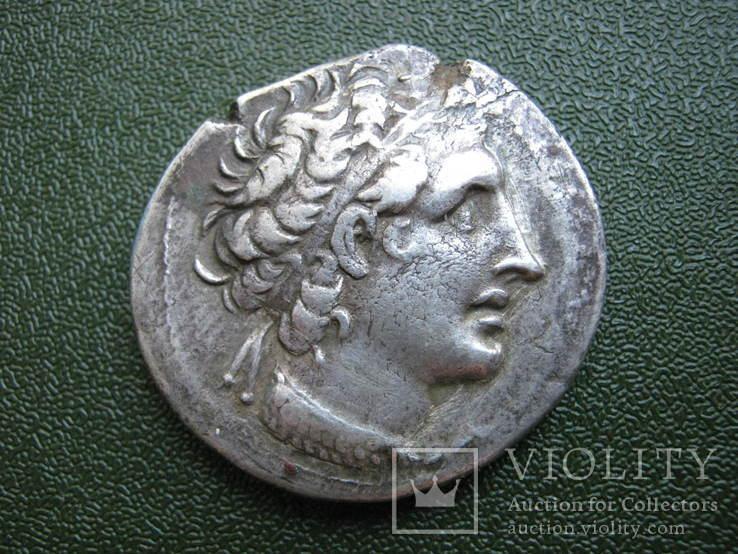Тетрадрахма Птолемея ХII . Египет. Чекан г. Пафос (Кипр)