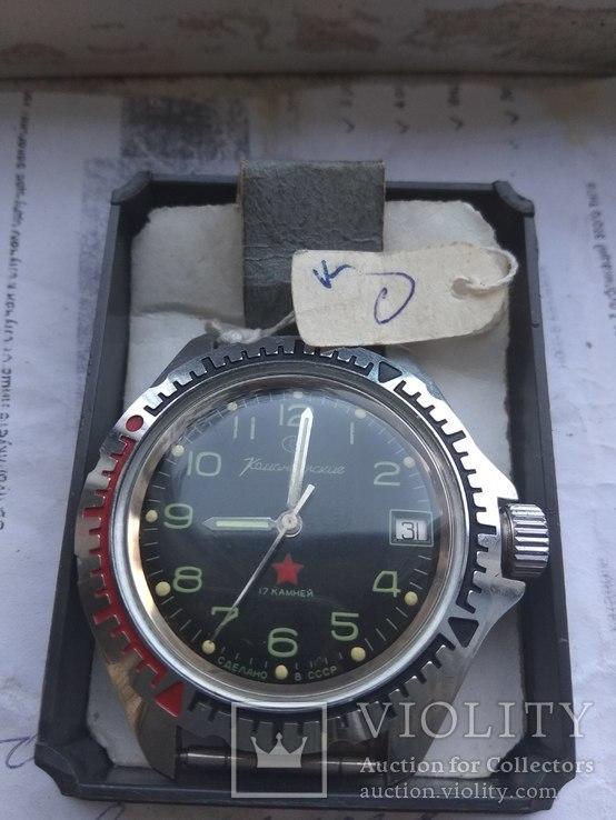 Новые часы командирские в коробке