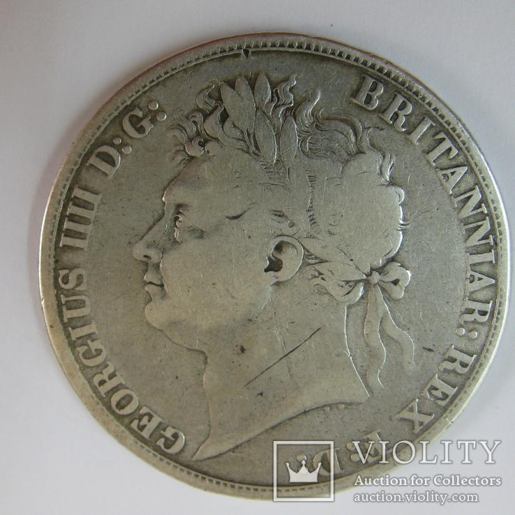 1 Крона 1821 Великобритания, фото №3