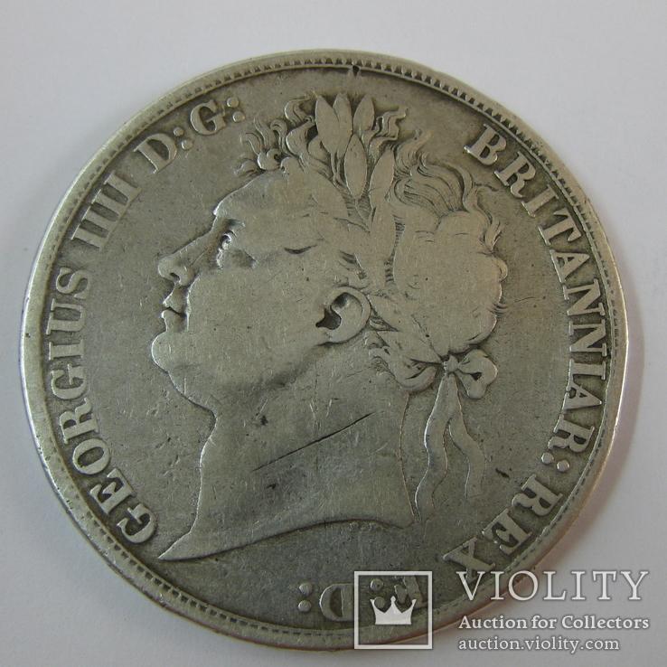 1 Крона 1821 Великобритания, фото №4
