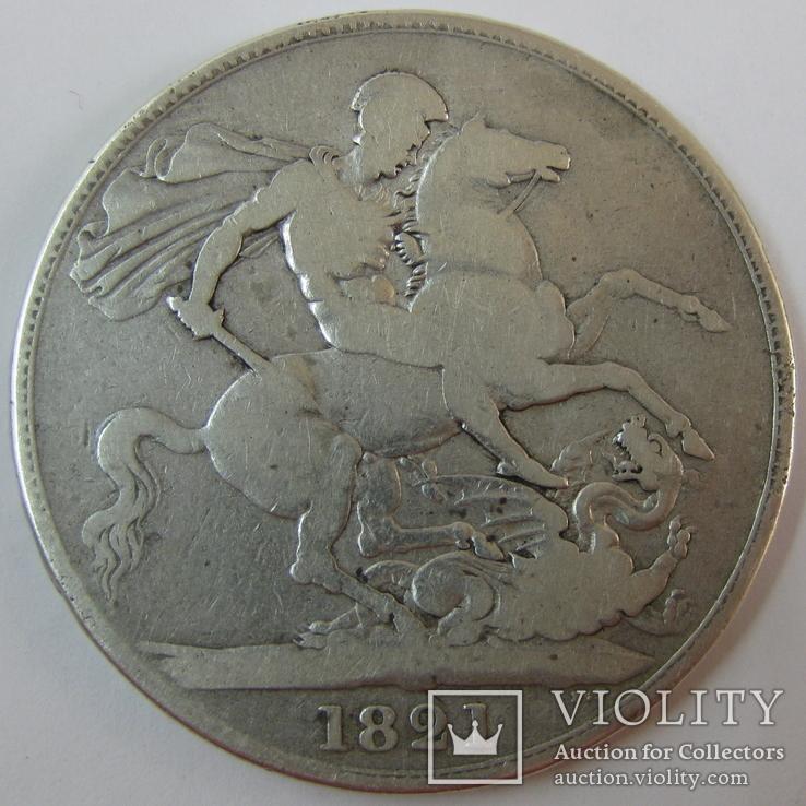 1 Крона 1821 Великобритания, фото №5