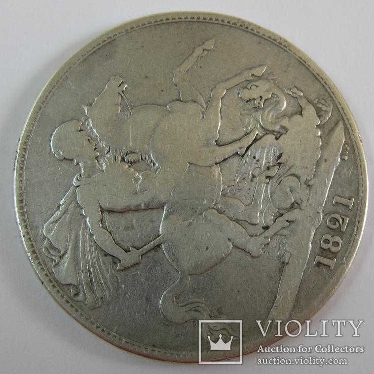1 Крона 1821 Великобритания, фото №7