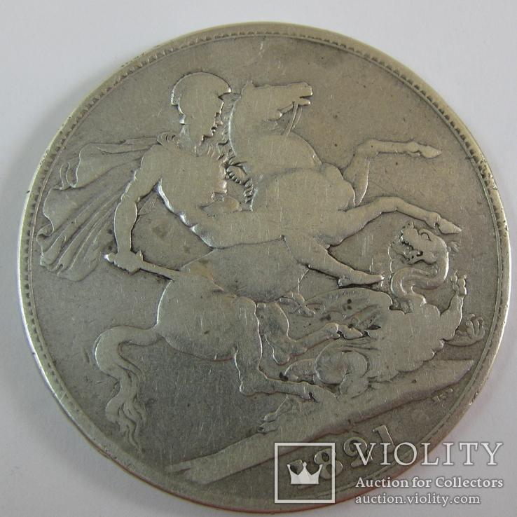 1 Крона 1821 Великобритания, фото №8