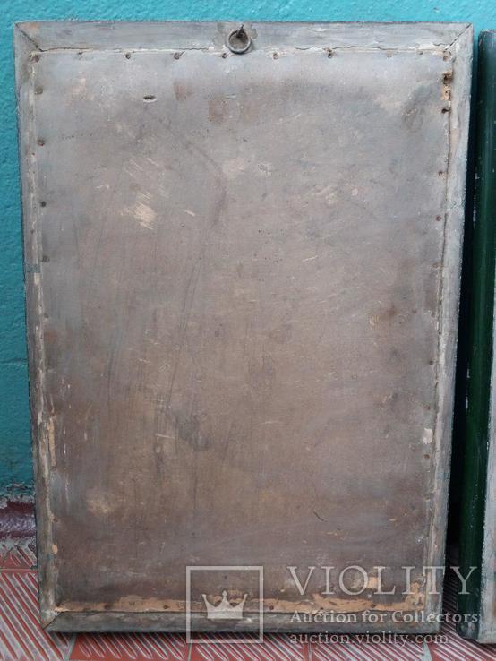 Старые гипсовые картины. 2 шт., фото №4