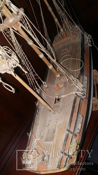 Деревянная модель паруснтка Баунти, фото №9