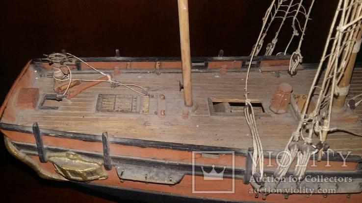 Деревянная модель паруснтка Баунти, фото №11