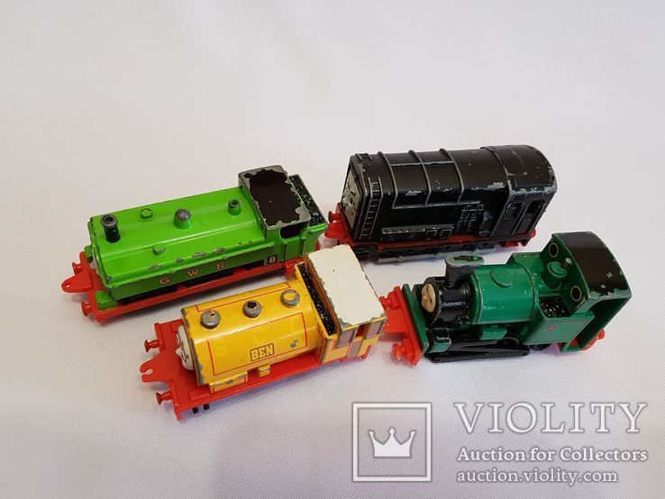 паровозики Ertl Vintage Henry Engine Train Car Thomas amp Friends Diecast 90-е, фото №3