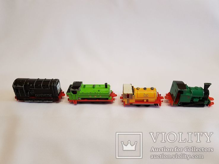 паровозики Ertl Vintage Henry Engine Train Car Thomas amp Friends Diecast 90-е, фото №4