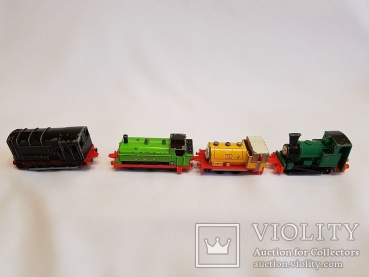 паровозики Ertl Vintage Henry Engine Train Car Thomas amp Friends Diecast 90-е, фото №6