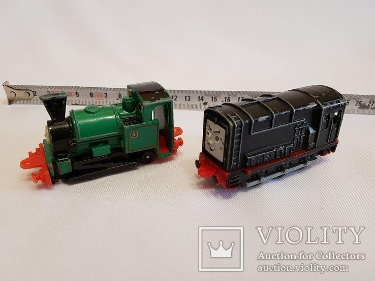 паровозики Ertl Vintage Henry Engine Train Car Thomas amp Friends Diecast 90-е, фото №8