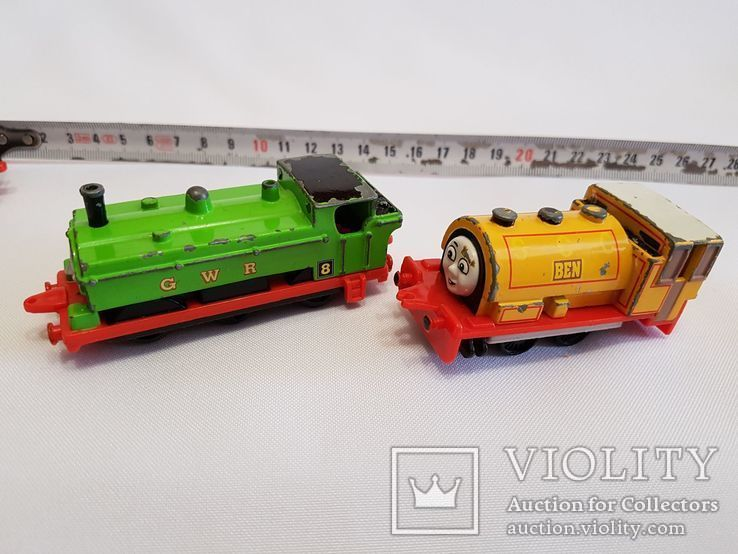 паровозики Ertl Vintage Henry Engine Train Car Thomas amp Friends Diecast 90-е, фото №9