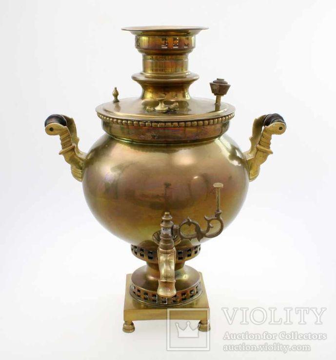 Самовар шар Воронцовых !9 век