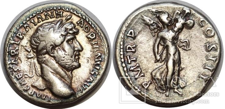 Адриан денарий RIC 101а