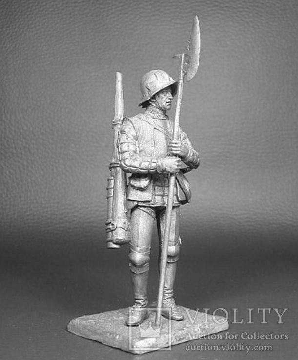 Швейцарский стрелок из ручницы, 15 век. 75мм.