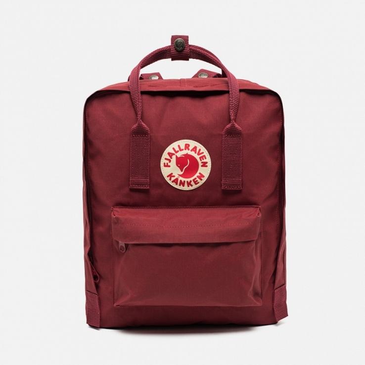 Рюкзак Fjallraven Kanken Classic Ox Red (Бордовый)