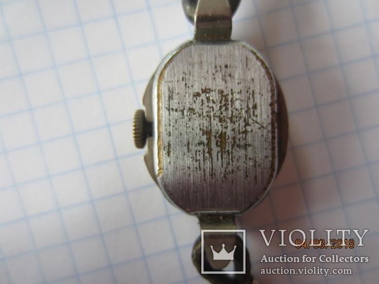 Винтажный часы Rosal 15 jewels Швейцария, фото №7