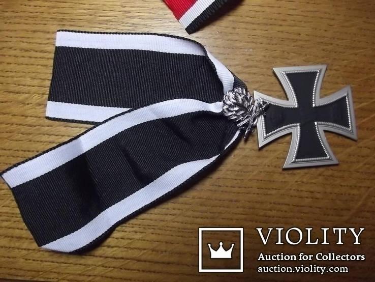 Копия. Большой рыцарский крест с мечами и дубовыми листьями. WWI, фото №2