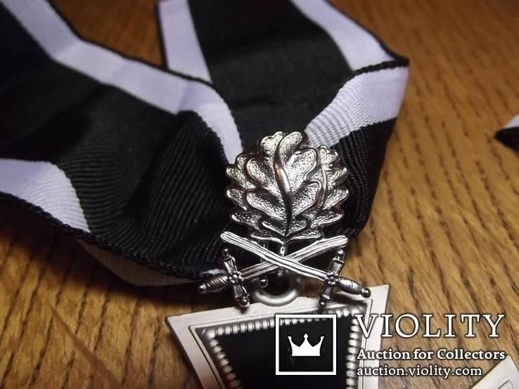 Копия. Большой рыцарский крест с мечами и дубовыми листьями. WWI, фото №3