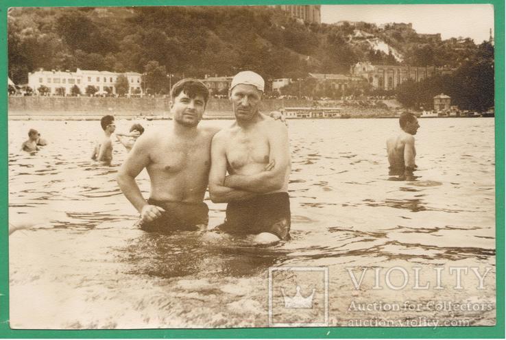 1958 Киев Днепр Купание Набережная, фото №2