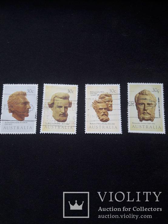 Серия марок Австралии, фото №4