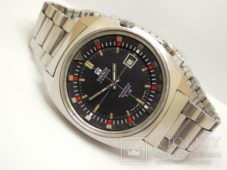 Tissot Seastar Visodate T12 1970-e  42 mm