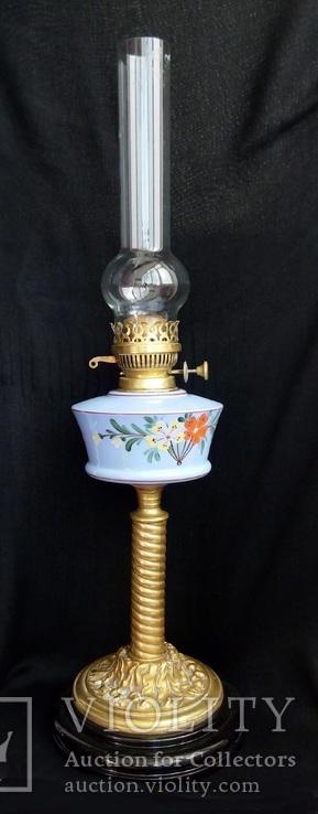 Английская керосиновая лампа