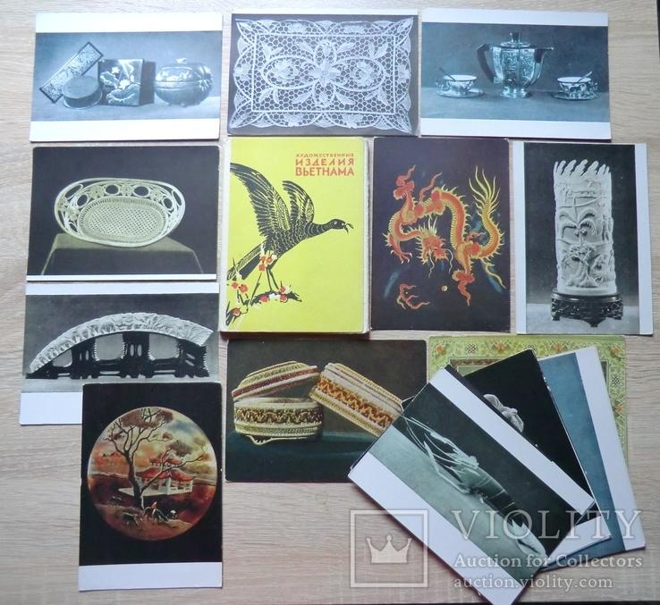 Днем, набор открыток вьетнам