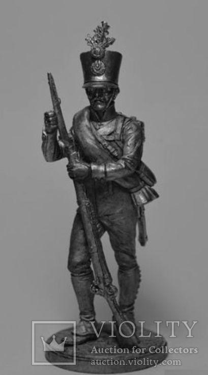Австрия.Фузилёр 4-го пехотного (немецкого) полка Хох унд Дойчмейстер. 1809-14 гг.