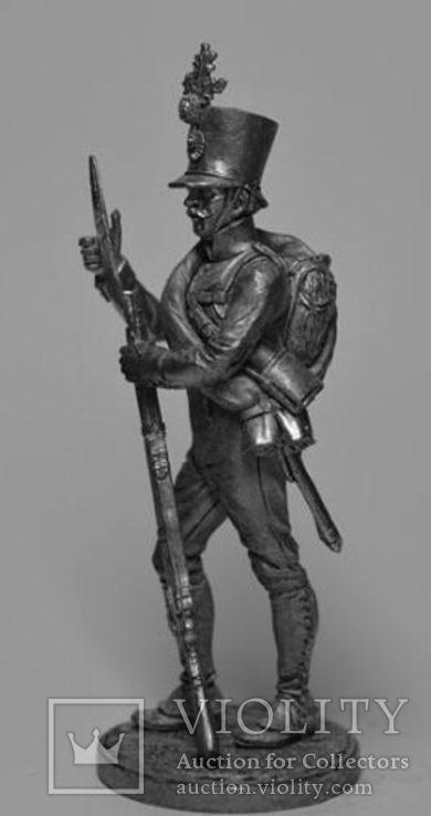 Австрия.Фузилёр 4-го пехотного (немецкого) полка Хох унд Дойчмейстер. 1809-14 гг., фото №3