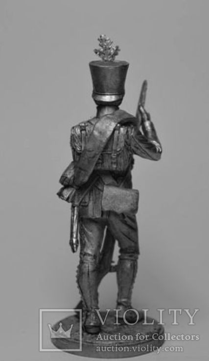 Австрия.Фузилёр 4-го пехотного (немецкого) полка Хох унд Дойчмейстер. 1809-14 гг., фото №4