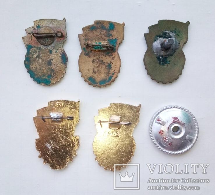 Отличник ГТО. ГТО-2. Тяжелые и лёгкие. 5 шт. разные, фото №8