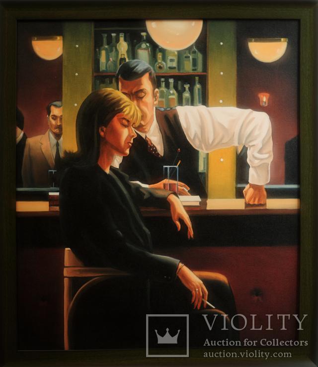 Картина маслом на холсте ′Коктейль разбитые мечты′ 2007 г.