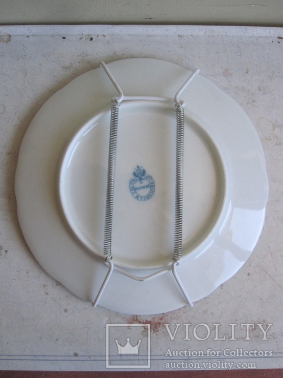 2 тарелки М. С. Казнецов ( одним лотом ), фото №5