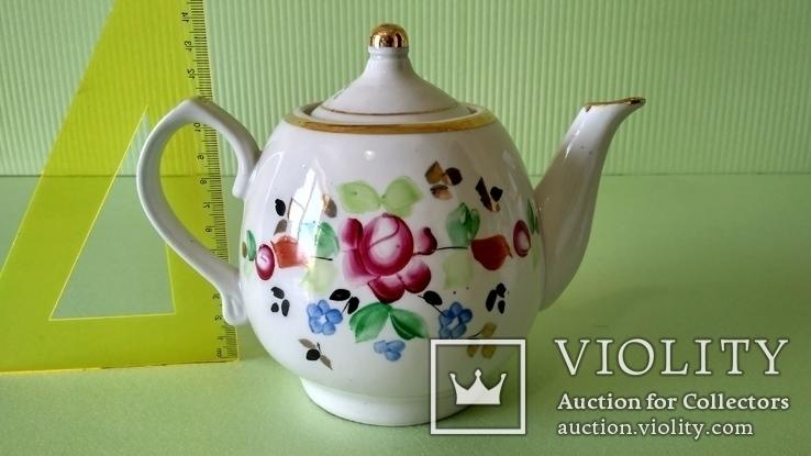 Чайник и блюдца советских времён, фото №5