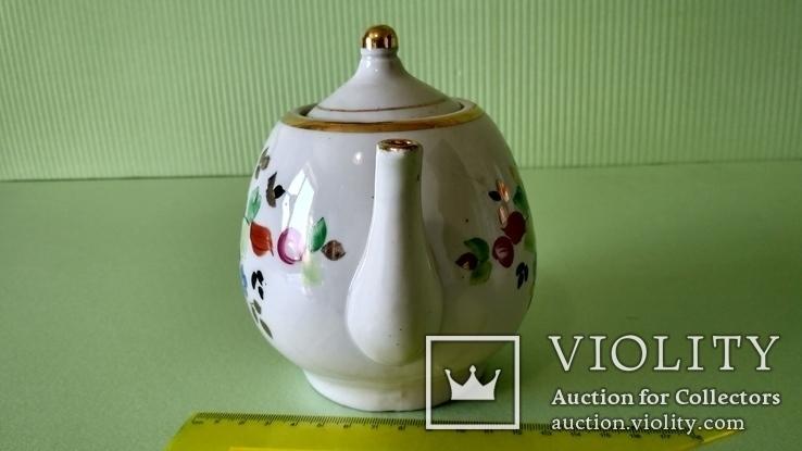 Чайник и блюдца советских времён, фото №6
