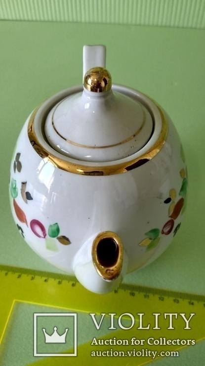 Чайник и блюдца советских времён, фото №7