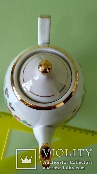 Чайник и блюдца советских времён, фото №8