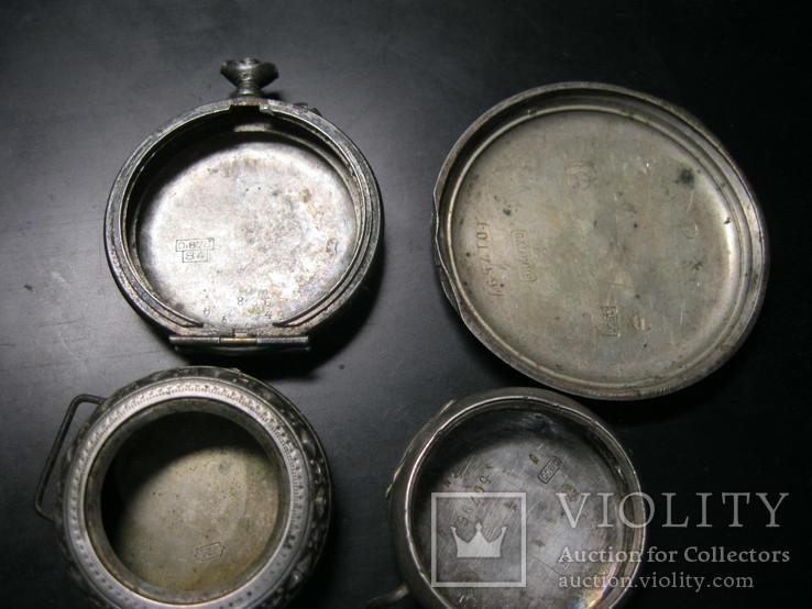 Срібні корпуси до кишенькових та інших старовиних, фото №2