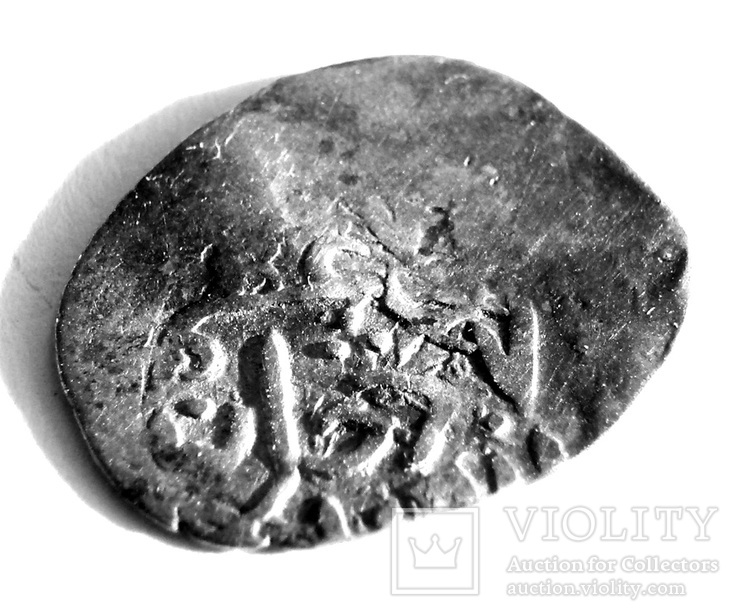 ПУЛАД, чекан Урду, 810 AH. Dang. Pulad khan. Urdu mint., Лот 3779, фото №3