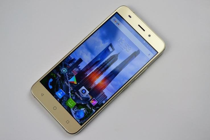 """AllCall Madrid GOLD """"5.5"""", 1 ГБ / 8 ГБ. Android 7.0"""