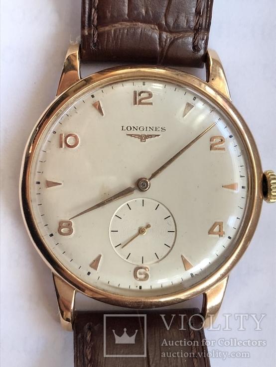 Часы Longines Ланжин золото 750 пр