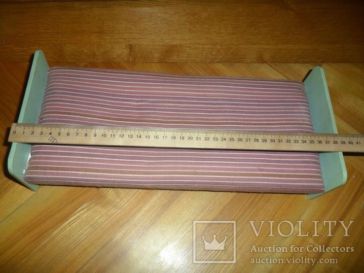 Кукольная кровать для куклы + подушки и др., фото №3