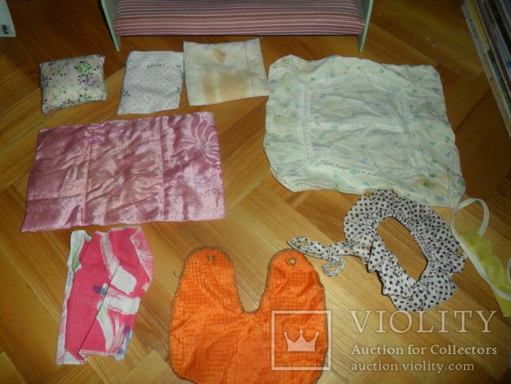 Кукольная кровать для куклы + подушки и др., фото №10