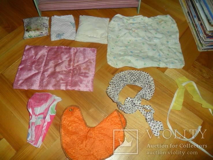 Кукольная кровать для куклы + подушки и др., фото №11