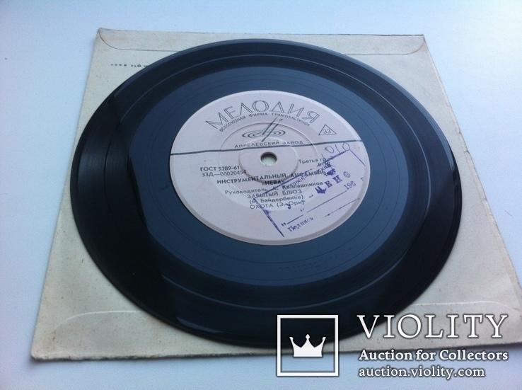 """Инструментальный ансамбль """"Нева"""" (7 """") 1967 Джаз, фото №5"""