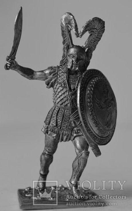 Греческий гоплит 480 год до н.э.