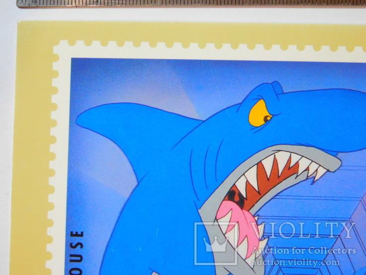 Открытка Великобритания (акула), фото №3
